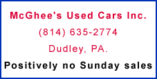 McGhee's Used Cars