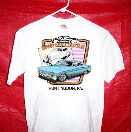 Keystone Country Cruisin event shirt